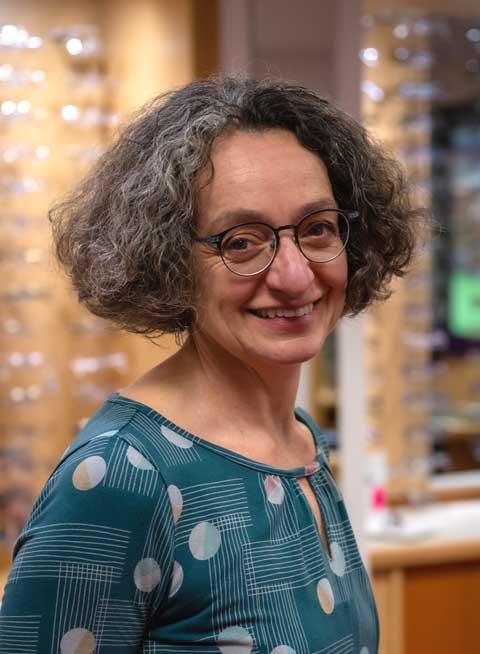 Optician Lorraine Bonete