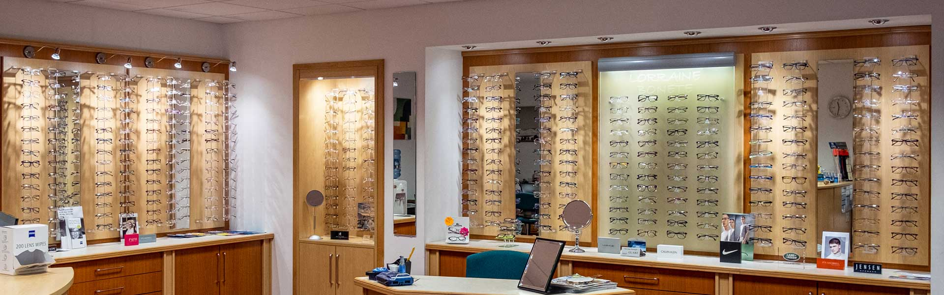 Lorraine Bonete Opticians Showroom